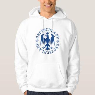 Deutschland German Eagle Emblem Hoodie
