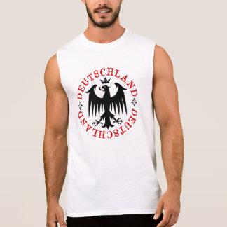 Deutschland German Eagle Emblem Sleeveless Shirt