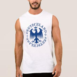 Deutschland German Eagle Emblem Sleeveless T-shirt