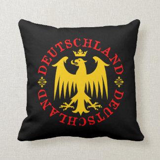 Deutschland German Eagle Emblem Throw Pillow