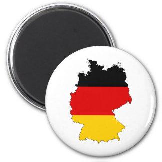 Deutschland, Germany 2 Inch Round Magnet