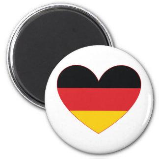 Deutschland / Germany 2 Inch Round Magnet