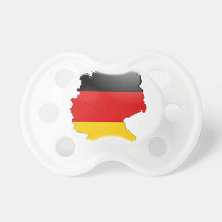 Deutschland (Germany) and Flag Pacifier
