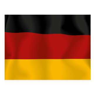 Deutschland Germany Bundesflagge Flag Postcard