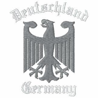 Deutschland Germany Embroidered Sweatshirt Hoodies