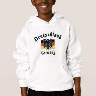 Deutschland Germany Flag Hoodie