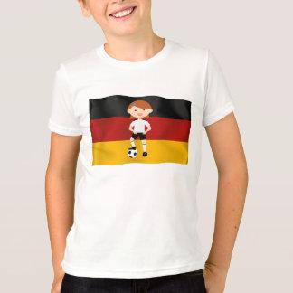 Deutschland Germany Fußball Mädchen 3 T-Shirt