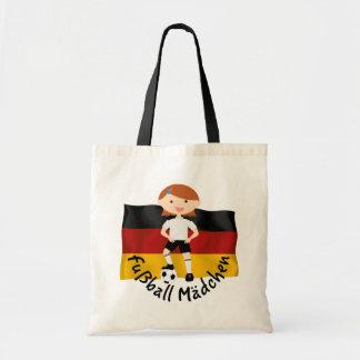 Deutschland Germany Fußball Mädchen 3 v2 Tote Bag