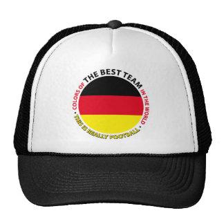 Deutschland-Germany-Germany Art Shield Mesh Hats