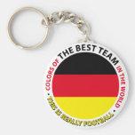 Deutschland-Germany-Germany Art Shield Key Chain