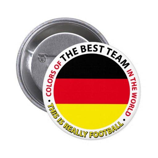 Deutschland-Germany-Germany Art Shield Pin