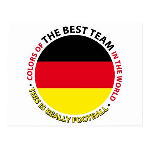 Deutschland-Germany-Germany Art Shield Post Card