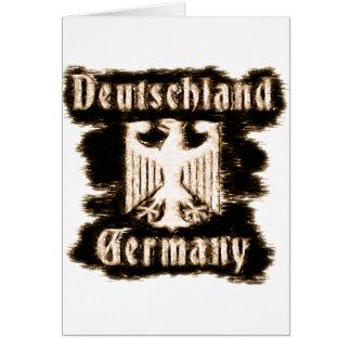 Deutschland Germany Greeting Card