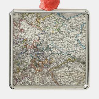 Deutschland - Germany Metal Ornament