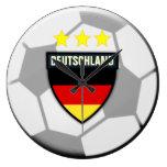 Deutschland Germany Soccer Ball Clock