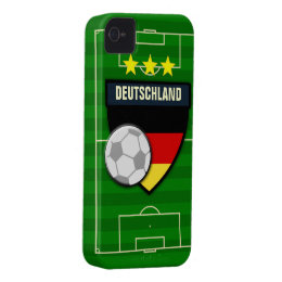 Deutschland Germany Soccer iPhone 4 Case-Mate Case