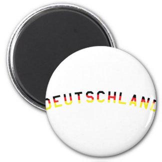 Deutschland icon magnet