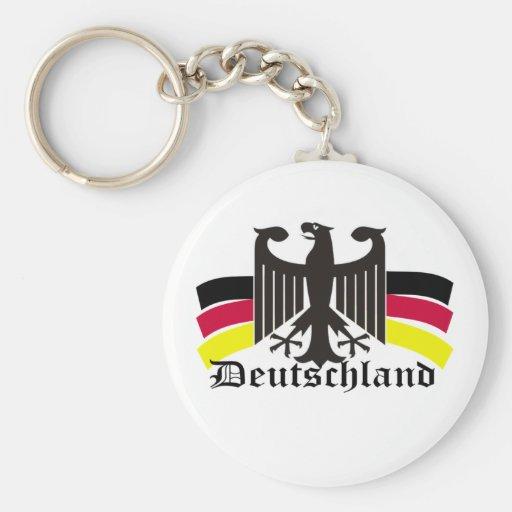 deutschland key chain