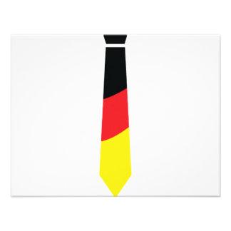 deutschland krawatte invitation