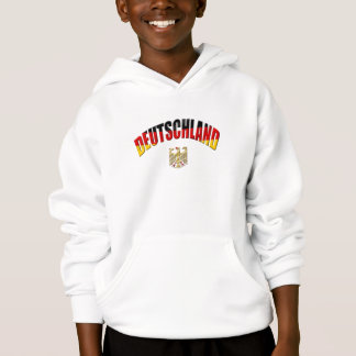 Deutschland logo flag of Germany gear Hoodie