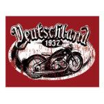 Deutschland Motowear Postcards