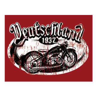 Deutschland Motowear Tarjetas Postales
