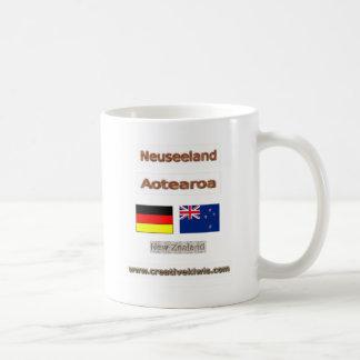 Deutschland, Neuseeland Coffee Mug