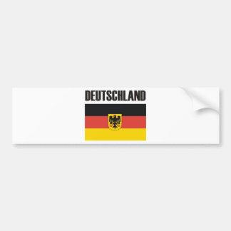 Deutschland Products & Designs! Car Bumper Sticker
