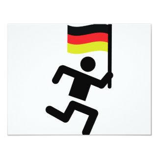 Deutschland runner icon card