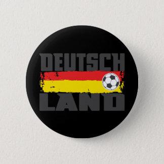 Deutschland Soccer Pinback Button