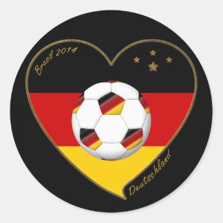 """""""DEUTSCHLAND"""" Soccer Team 2014. Fútbol de Alemania Etiquetas"""
