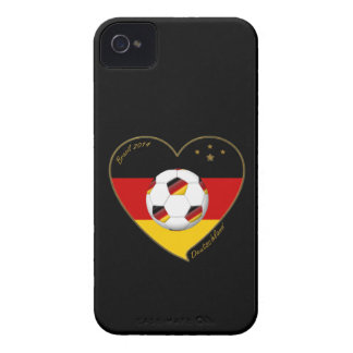 """""""DEUTSCHLAND"""" Soccer Team 2014. Soccer of Germany Case-Mate iPhone 4 Cases"""