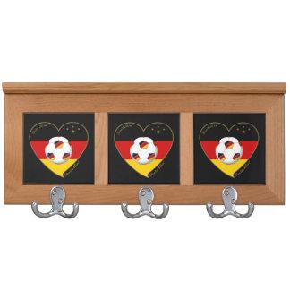 """""""DEUTSCHLAND"""" Soccer Team 2014. Soccer of Germany Coat Racks"""