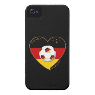 """DEUTSCHLAND"" Soccer Team 2014. Soccer of Germany iPhone 4 Case"