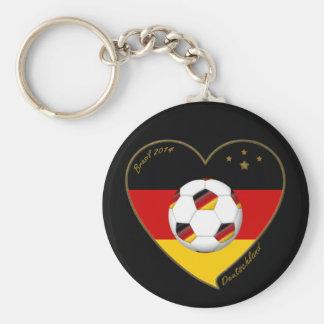 """DEUTSCHLAND"" Soccer Team 2014. Soccer of Germany Keychains"