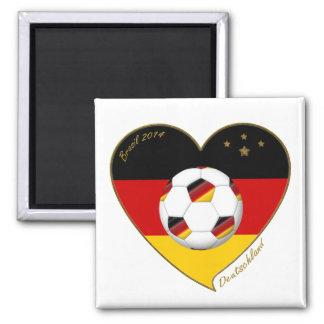 """""""DEUTSCHLAND"""" Soccer Team. Fútbol de Alemania 2014 Imanes"""
