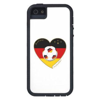 """DEUTSCHLAND"" Soccer Team. Soccer of Germany 2014 iPhone 5 Case"