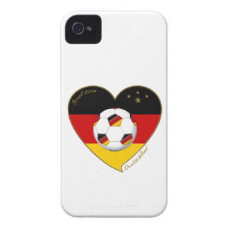 """""""DEUTSCHLAND"""" Soccer Team. Soccer of Germany 2014 iPhone 4 Cover"""