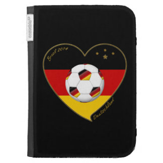 """""""DEUTSCHLAND"""" Soccer Team. Soccer of Germany 2014 Kindle Covers"""