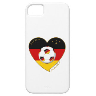 """""""DEUTSCHLAND"""" Soccer Team. Soccer of Germany 2014 iPhone 5 Covers"""