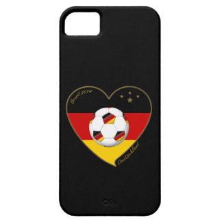 """DEUTSCHLAND"" Soccer Team. Soccer of Germany 2014 iPhone SE/5/5s Case"