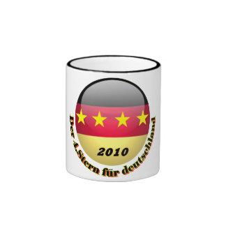 deutschland taza a dos colores