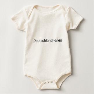Deutschland über alles baby bodysuit