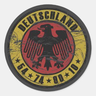 Deutschland Vintage Sticker