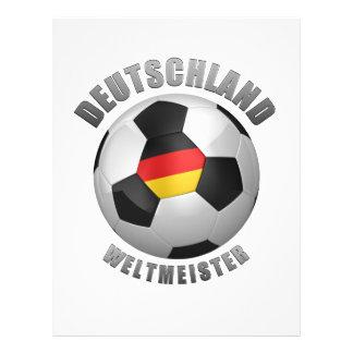 Deutschland Weltmeister Tarjetas Publicitarias