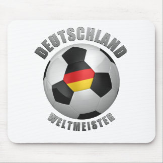 Deutschland Weltmeister Mouse Pad