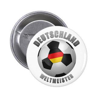 Deutschland Weltmeister Pinback Button