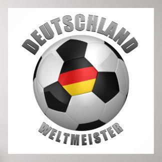 Deutschland Weltmeister Poster