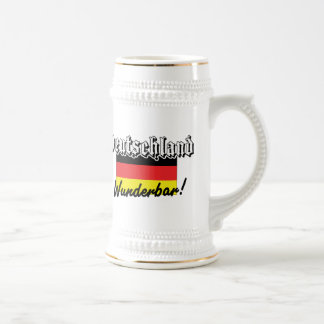 Deutschland Wunderbar Beer Stein