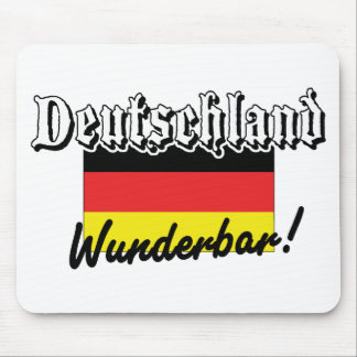 Deutschland Wunderbar Mouse Pad